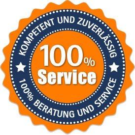 Rohrreinigung mit 100% Service